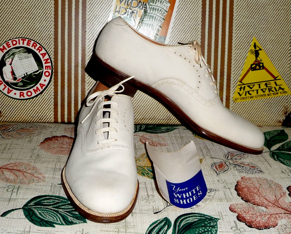 1930's Great Gatspy Shoes