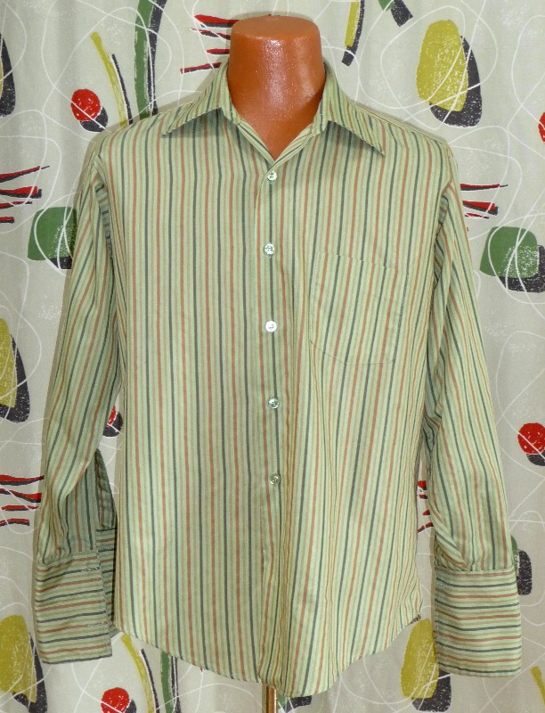 Men's Vintage Dress Shirt#21