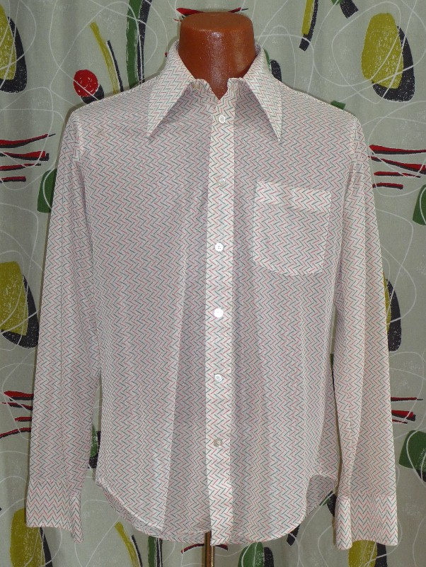 Men's Vintage Dress Shirt#22